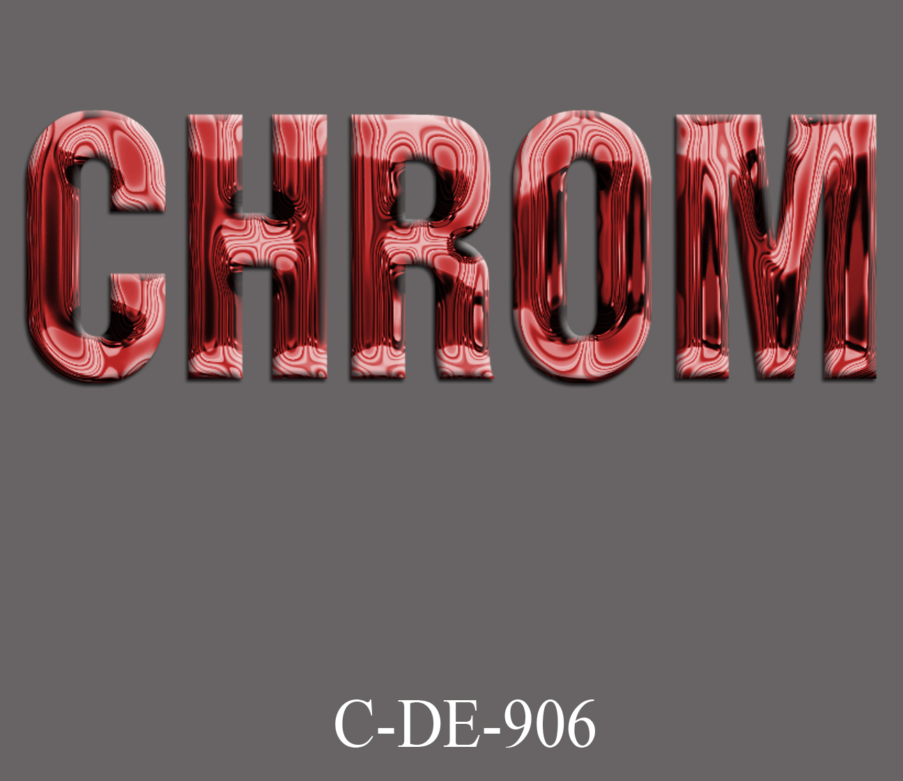 C-DE-906_Chrom-Dark-Red